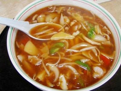 味の三喜 広東麺