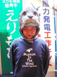 石川さんあざらしかぶり
