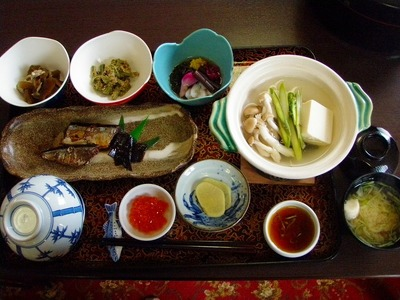 望洋荘の朝食!