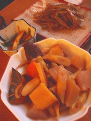 中川スナック山菜!
