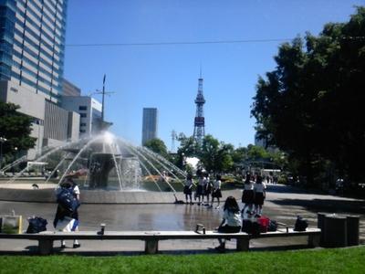0716快晴の大通公園