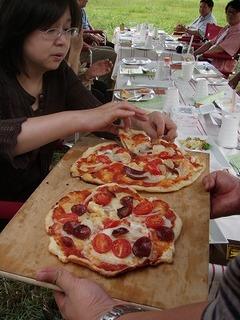 渡辺農場ダッチオーヴンレストランピザ