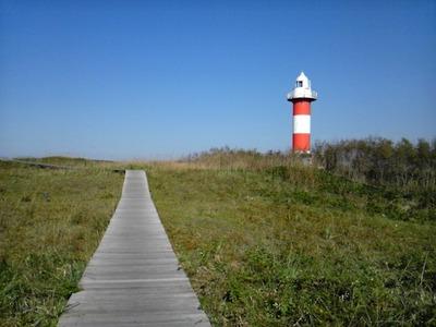 石狩本町の石狩灯台