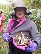キノコ狩り収穫3