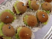 黒米パンハンバーガー