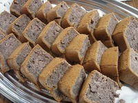 黒米シフォンケーキ