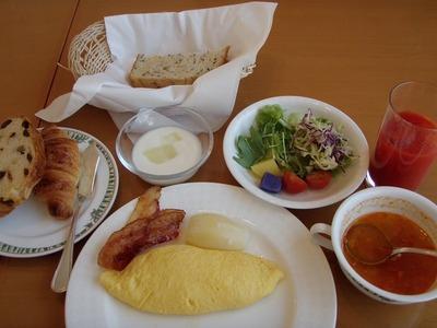 北海道ホテル朝食<洋食>