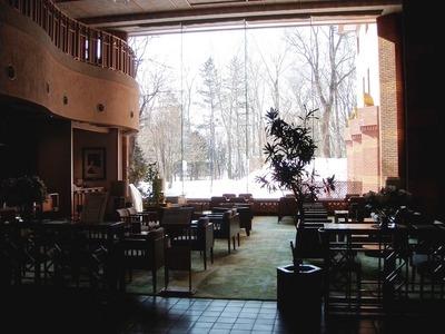 北海道ホテルロビー