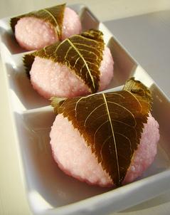 桜餅のフリー画像
