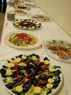 美深いぶきの会のお料理1