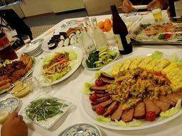 美深いぶきの会のお料理2