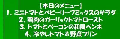 20110807大塚ふぁーむ畑でレストランメニュー