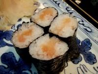タラコ巻き寿司