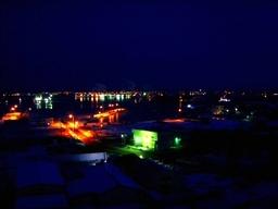 米町公園から釧路港
