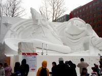 2012雪まつり大雪像2
