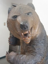 木彫り熊1