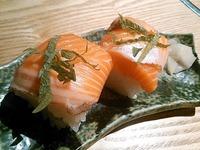 炙屋〆の寿司