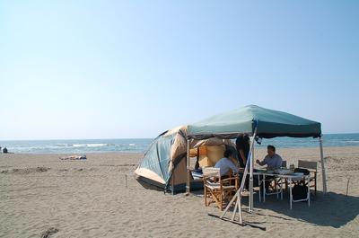 手ぶらでキャンプ石狩浜2.JPG