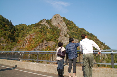 豊平峡紅葉果物狩り2.JPG