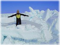 知床ウトロ 流氷体験