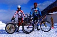 冬のサイクリングMTBツアー