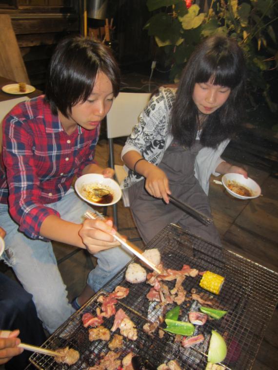 冒険家族, 山菜BBQ