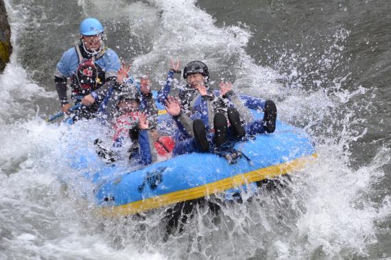 NRA, 春ラフティング, シーソラプチ川