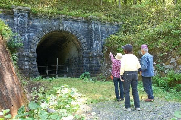 新内隧道,NPO法人 旧狩勝線を楽しむ会,新得町
