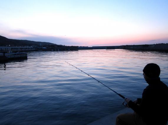 日本海,夜釣り,グランパパ,ペンション