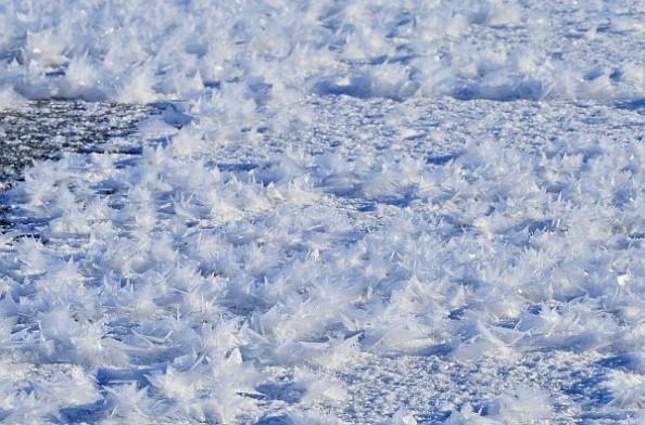 フロストフラワー,阿寒湖