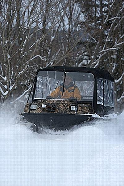 南富良野,雪上車