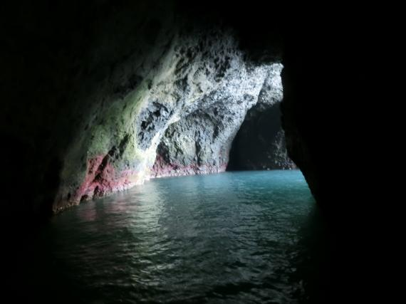 青の洞窟,小樽