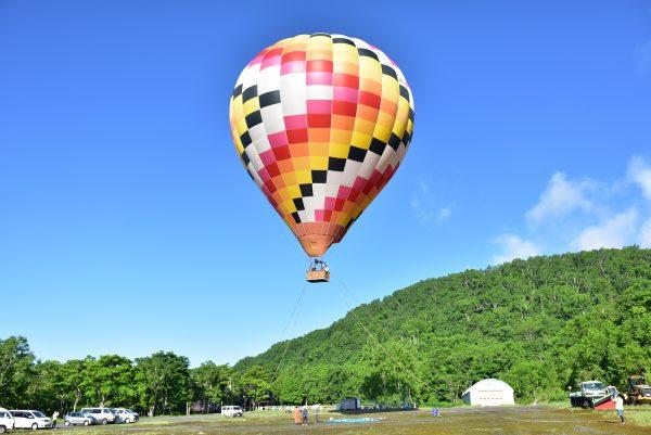 北海道ライオンアドベンチャーの熱気球フライト