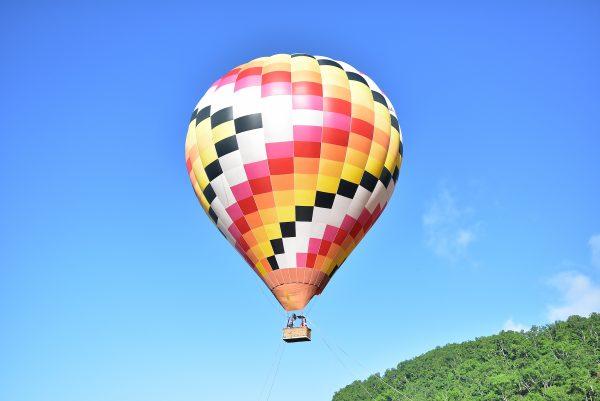 ニセコで熱気球