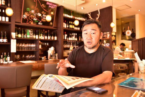 ガイドの未来を語る宮川さん
