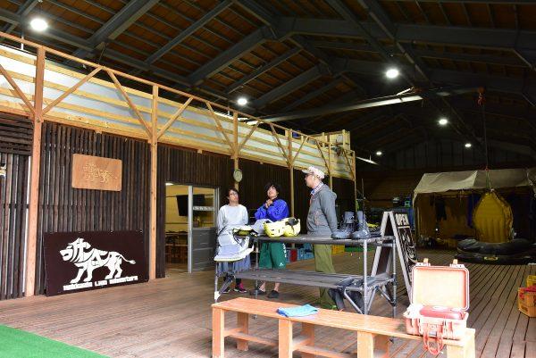 北海道ライオンアドベンチャーのベース