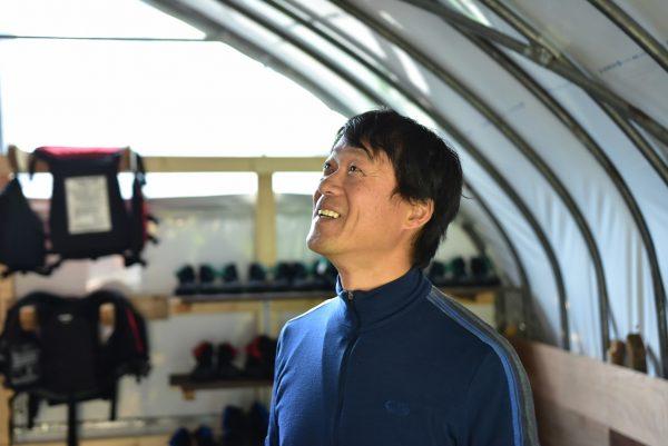 更衣室での福田さん